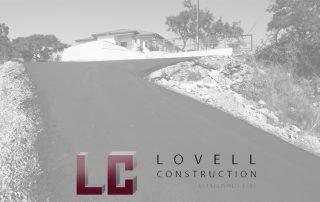 Asphalt Driveway Leading to House