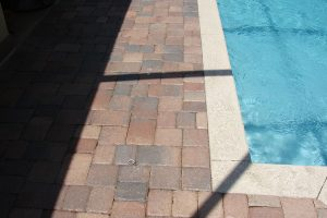 Btick Pavers Around Swimming pool