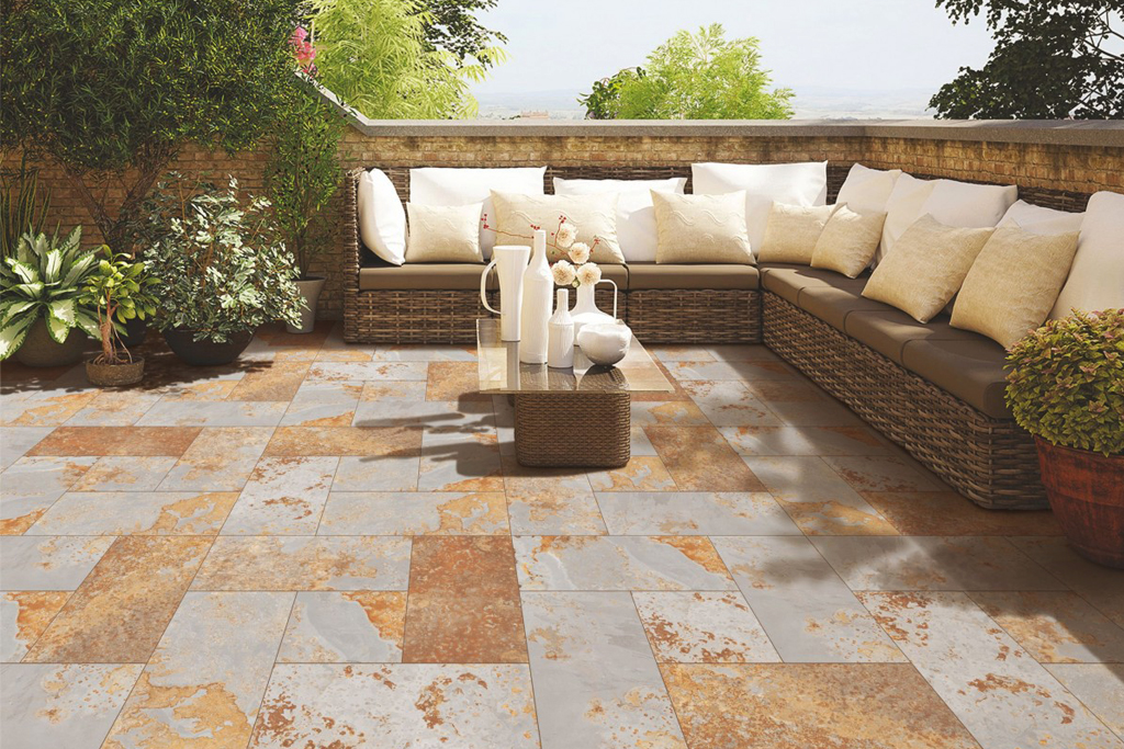 Flagstone in Outside Sitting Area