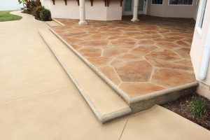 Step Up Flagstone Patio