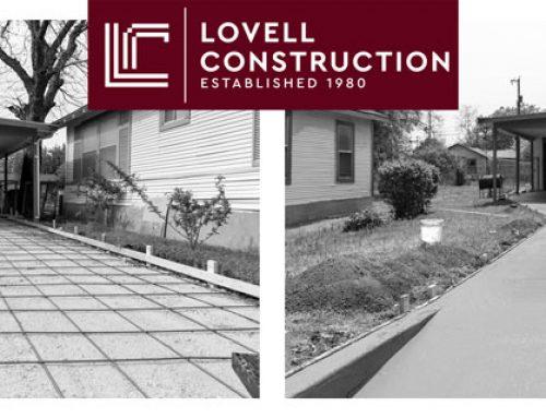 Residential Concrete Driveway Renovation